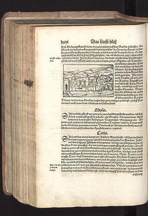 Sebastian Münster - Cosmographia