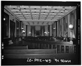 Council chamber,looking south - Savannah City Hall, Bay and Bull Streets, Savannah, Chatham County, GA HABS GA,26-SAV,61-37.tif