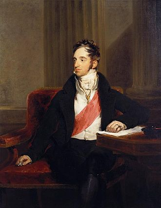 Karl Nesselrode - Count von Nesselrode, as painted by Sir Thomas Lawrence in 1818.
