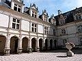 Cour intérieure du château de Villandry 22.JPG