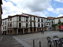 Covarrubias: Plaza Mayor
