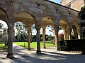 Covered walkway at the southern edge of the Great Court at the University of Queensland July 2015.jpg