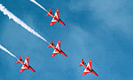 Cowes Week 2013 Red Arrows display 3.jpg