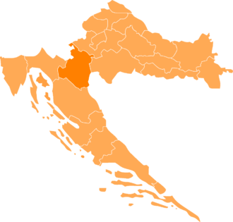 Kordun - The main areas of Kordun are located in Karlovac County