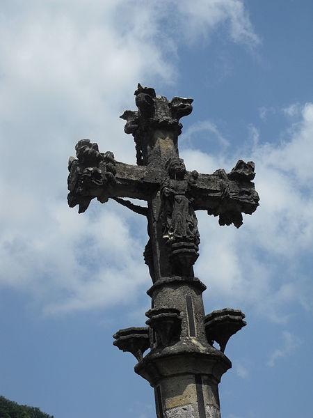 Croix de chemin de Bief, à Bief (Doubs)