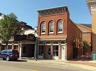 National Register of Historic Places listings in Lenawee County, Michigan - Image: Croswell Opera House