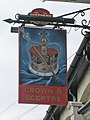 Crown ^ Sceptre sign - geograph.org.uk - 1997382.jpg