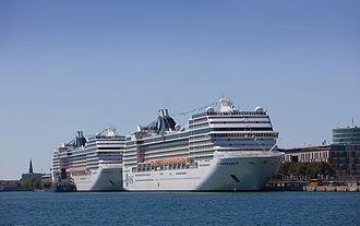Copenhagen Malmö Port - Cruise liners in Copenhagen