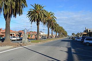 Culcairn Town in New South Wales, Australia