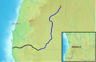 Cunene River - Image: Cunene River Angola