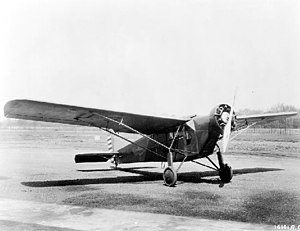 Curtiss Robin - The XC-10 in 1930