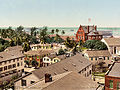 Custom House and harbor, Key West, Florida, 1900.jpg
