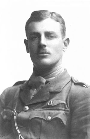 Cuthbert Orde - Cuthbert Orde in Royal Flying Corps uniform, 1916