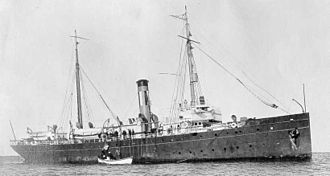 Rum-running - U.S. Coast Guard Cutter ''Seneca''