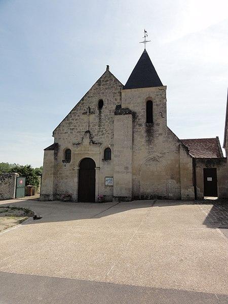 Cys-la-Commune (Aisne) église