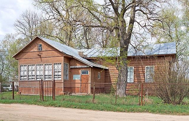 Дом Коровина в деревне Охотино, Переславский район