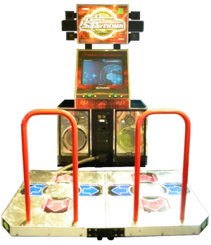 Dance Dance Revolution SuperNova -  Arcade cabinet for Dance Dance Revolution SuperNOVA