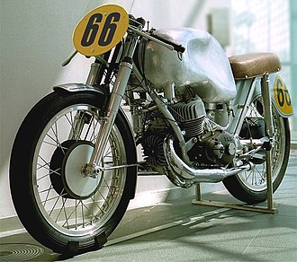 Ewald Kluge - The 350 cc three cylinder DKW, used by Kluge in his final race.
