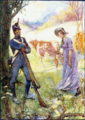 DRIVING A COW BEFORE HER, LAURA SECORD PASSED THE AMERICAN SENTRIES.png