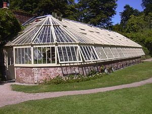 Greenway Estate - The restored greenhouse