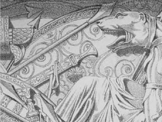 Dacian Draco - Dacian Draco on Trajan's Column