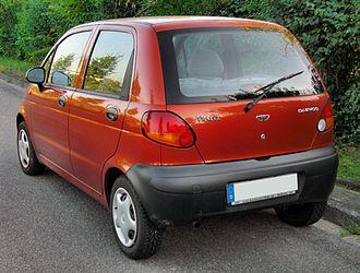 Chevrolet Spark - Daewoo Matiz (M100; pre-facelift)