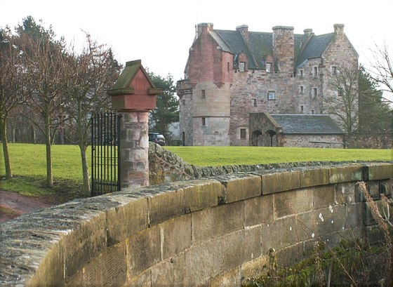 Dairsie Castle where the 1335 Parliament was held Dairsie Castle.jpg