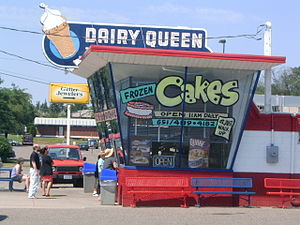 "English: Dairy Queen ""restaurant."" R..."