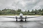 Dakota Norway DC-3 at Flesland Fjordsteam 2018 (152830).jpg