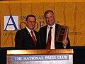 Daniel Oerther receiving the Kappe Award from AAEES President C Hunter Nolen April 2018.jpg