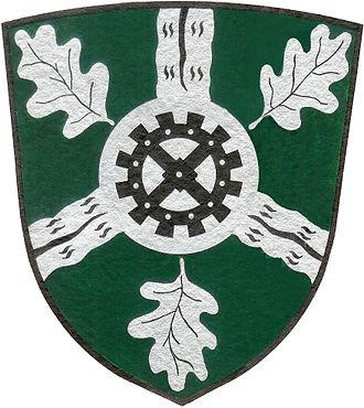 Aumühle - Image: Das offizielle und originale Wappen der Gemeinde Aumühle
