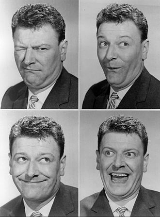 Dave King (actor) - Photo montage of King from a 1959 Kraft Music Hall appearance.