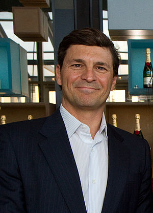 David Faber (CNBC) - Faber at the Financial Times Spring Party in 2012