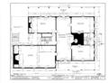 David Lambert House, Danbury Post Road, Wilton, Fairfield County, CT HABS CONN,1-WILT,1- (sheet 1 of 8).png