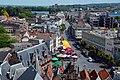 De Burchtstraat met op de voorgrond de Grote Markt, Nijmegen centrum.jpg