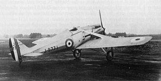De Havilland DH.77 - Image: De Havilland DH77 001