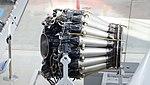 De Havilland Goblin 35 turbojet engine left side top view at Hamamatsu Air Base Publication Center November 24, 2014.jpg
