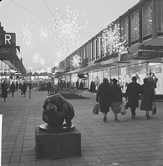 Lijnbaan - Lijnbaan in 1961