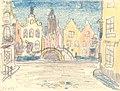 De Lindendijk, Felix Timmermans, 1938, tekening, Letterenhuis (Antwerpen) - tg lhtk 8015.jpg