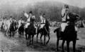 Defilarea arcașilor călări, Bucșoaia, 1937.png