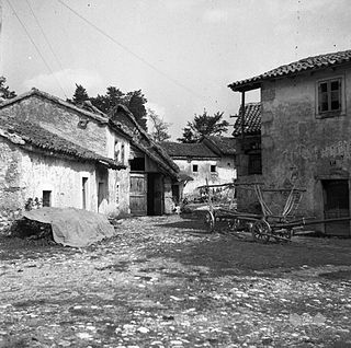 Poljane pri Podgradu Village in Littoral, Slovenia