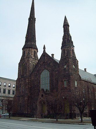 Delaware Avenue Methodist Episcopal Church - Delaware Avenue Methodist Episcopal Church, December 2009