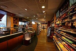 Deli de Luca - The interior of a Deli de Luca store