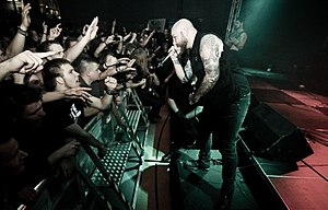 Demon Hunter live in Gomaringen in 2010