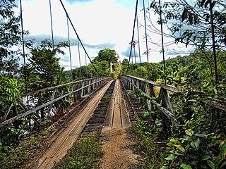 Denham Suspension Bridge