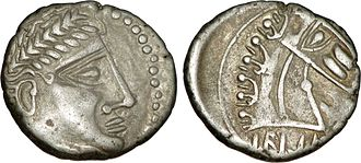 Cavares - Cavares coin of the 1st century BC