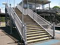 Denistone railway station stairs.jpg