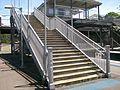 Denistone railway station stairs.jpg