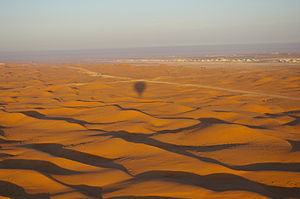 Desert in Al Ain, UAE