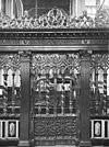 detail koorhek naar het westen - amsterdam - 20012445 - rce